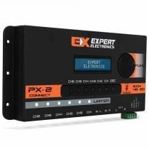 Crossover expert px2 connect 6 canais processador de áudio digital equalizador bluetooth - Expert