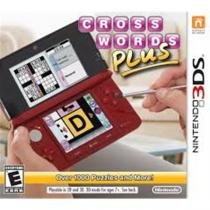 Crosswords plus - 3ds - Nintendo