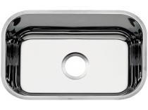 Cuba Simples de Embutir para Cozinha Tramontina - Inox Retangular 50x33,5cm Standard Lavínia