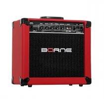 Cubo Ativo p/ Guitarra Fal 6,5 Pol 20W - Strike G 70 Borne - Borne