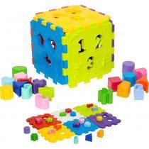 Cubo Didático - Merco Toys - Mercotoys