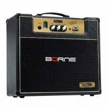 Cubo Multiuso Valvulado p/ Guitarra Fal 12 Pol 7W - Clássico T7 Airton Mann Borne - Borne