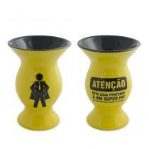 Cuia 350ml (Diverticon-Super Pai) Amarelo 1823341 Ceraflame -