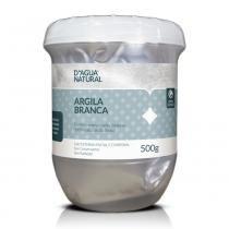 Dagua Natural - Argila Branca FACIAL E CORPORAL - 500g - DÁgua Natural