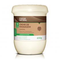 Dagua Natural - Creme de Massagem CAFEÍNA 7 ATIVOS - 650g - DÁgua Natural