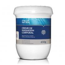 Dagua Natural - Creme de Massagem Corporal ALGAS - 650g - DÁgua Natural