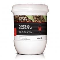 Dagua Natural - Creme de Massagem PIMENTA NEGRA - 650g - DÁgua Natural