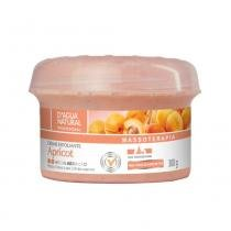 Dagua natural creme esfoliante apricot media abrasão 300g -