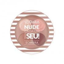 Dailus Quarteto de Sombra Nude Cada Um Tem o Seu - 02 Chic Nude - Dailus
