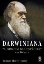 Darwiniana - a origem das especies em debate - Madras editora