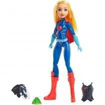 DC Super Hero Girls Boneca Supergirl p/ Missão DVG22 Mattel -
