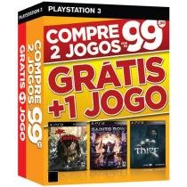 Dead Island Riptide + Saints Row IV + Thief - para PS3 Ecogames