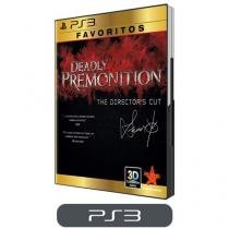 Deadly Premonition para PS3 - The Directors Cut - Coleção Favoritos - Rising Star Games