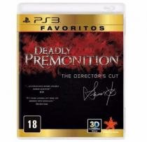Deadly Premonition: The Directors Cut - Favoritos - PS3 - Sony