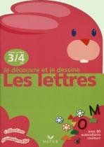 Decouvre et je dessine, je - les lettres - 9782218723964 - Didier/ hatier