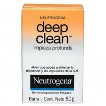 Deep Clean Limpeza Profunda Neutrogena - Sabonete Facial - 80g - Neutrogena