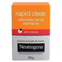 Deep Clean Rapid Clear Neutrogena - Sabonete Facial - 80g - Neutrogena