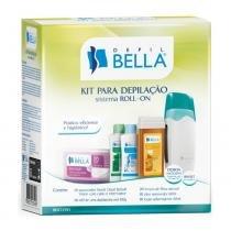 Depil Bella Kit para Depilação Sistema Roll-on Bivolt - Depil Bella