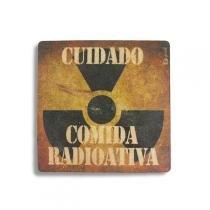 Descanso de Panela Comida Radioativa - Fabrica geek