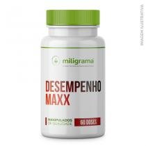Desempenho Maxx - Turkesterone 500mg + Tribulus terrestris 750mg + Cyanotis vaga 250mg 60 doses - Miligrama