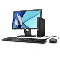 Desktop Empresarial Dell OptiPlex 3050 Micro-D1M 7ª Geração Intel Core i3 4GB 500GB Linux Monitor -
