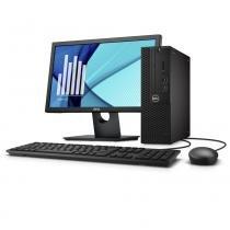 Desktop Empresarial Dell OptiPlex 3050 SFF-PR3M Intel Core i5 4GB 1TB Win 10 Pro Mon -