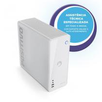 Desktop positivo station i3 41ta - core i3 4gb 1tb - w10 - branco - Positivo