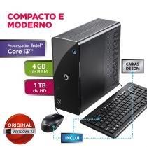 Desktop positivo stilo ds7667  intel core i3 4gb 1 tb  w 10 - Positivo