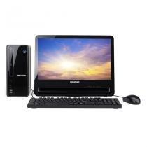 Desktop Positivo Stilo DSi3168 Celeron 4GB 1TB LCD 18.5 polegadas  Linux -