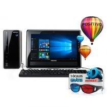 Desktop Positivo Stilo, Intel Celeron, 4GB RAM, 500GB HD, Win 10 - DS3558 - POSITIVO