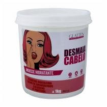 Desmaia Cabelo Máscara Mousse Hidratante  - 1Kg - Glatten professional
