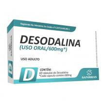 Desodalina 600mg 60 cápsulas - Sanibras - Power supplements