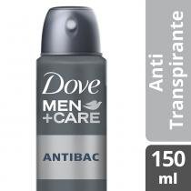 Desodorante antitranspirante dove aerosol men+care silver control 89g - Dove