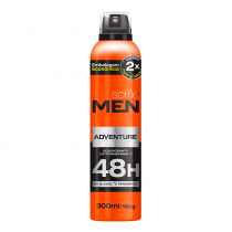 Desodorante Antitranspirante Soffie Men Adventure - 300ml - Soffie