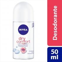 Desodorante Nivea Roll On Dry Comfort 50ml - NIVEA