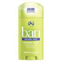 Desodorante Sólido Ban - Powder Fresh -