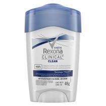 Desodorante Stick Rexona Masculino Clinical 48g -