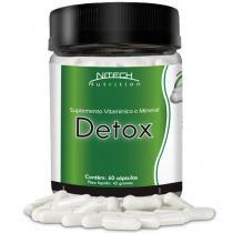 Detox - 60 Cápsulas - Nitech Nutrition - Nitech Nutrition