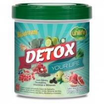 Detox Instantâneo Sabor Abacaxi com Hortelã 220g - Unilife