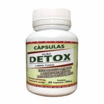Detox Limpa Tudo - 60 Cápsulas - Vida Natural -