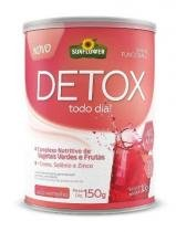 Detox Suco Vermelho Sun Flower -