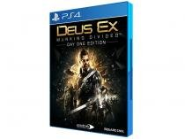 Deus Ex Mankind Divided - Day One Edition para PS4 - Square Enix