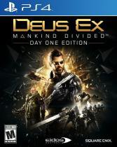 Deus EX Mankind Divided PS4 Midia Fisica - Square Enix