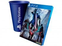 Devil May Cry 5 para PS4 - Capcom + Copo PlayStation Azul