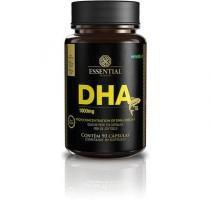 DHA Óleo de Peixe 1000mg Essential Nutrition 90 Cápsulas -