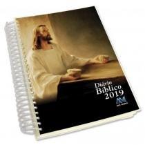 Diário Bíblico 2019 Jesus Modelo Espiral - Ave maria