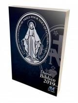 Diário Bíblico 2019 Medalha Milagrosa Capa Cristal - Ave maria