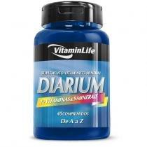 Diarium Suplemento Vitamínico-Mineral em Comprimidos VitaminLife - 45 cápsulas -