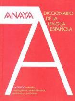 Diccionario anaya de la lengua espanola - Anaya (didaticos)