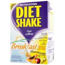 Diet Shake Breakfast - Sabor Vitamina De Frutas - 330G - Nutrilatina - Nutrilatina